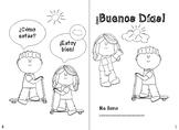 Spanish Greetings Booklet