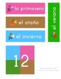 Las Estaciones - The Seasons Flashcards