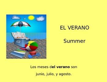 SPANISH Las Estaciones y Los Meses