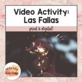 Las Fallas: Video Comprehension Activity