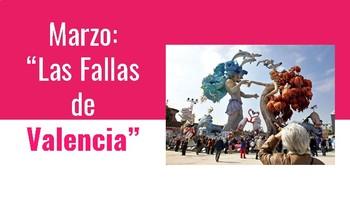 Las Fallas de Valencia (Celebration in Spain)