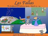 Las Fallas in Spain in Spring with Pepper