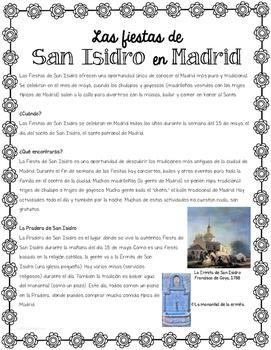Las Fiestas de San Isidro Reading