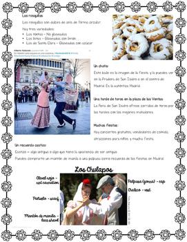 MAY 15 Las Fiestas de San Isidro Reading