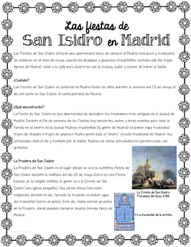 MAY 15 Las Fiestas de San Isidro Reading #COVID19WL