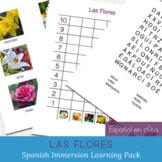Las Flores - Spanish At Home Learning Packet for Emergent Readers