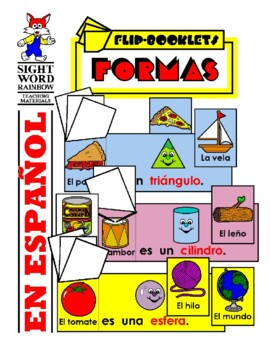 Las Formas: Flip Booklets in Spanish (Shapes)