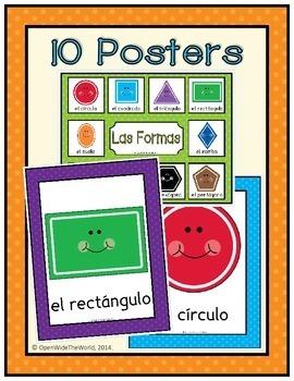 Spanish Shapes - Las Formas
