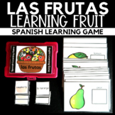 Las Frutas - Spanish and English Learning Game