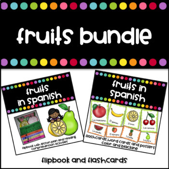 Las Frutas Bundle (Fruits in Spanish)