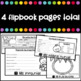 Las Frutas - Flipbook with lesson plan (Fruits in Spanish)