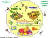 Las Frutas / Fruits in Spanish