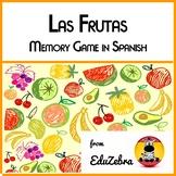 Las Frutas - Food: Fruits in Spanish - Memory Game