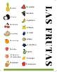 Las Frutas y las Verduras  (Fruits and Vegetables)