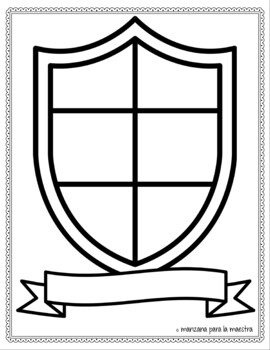 Las Identidades: Coat of Arms/Tattoo and Name Analysis Spanish Project w. Rubric