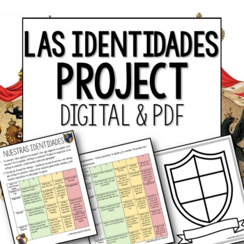 AP Spanish Las Identidades: Coat of Arms/Tattoo Name Analysis Spanish Project