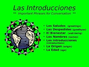 Las Introducciones - Intro PowerPoint