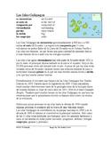 Galapagos Islands Spanish Reading: Islas Galápagos Lectura y Cultura (Ecuador)