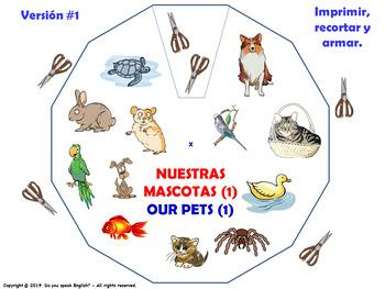 Las Mascotas / Pets in Spanish