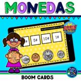 Las Monedas / Coins Boom Cards in Spanish