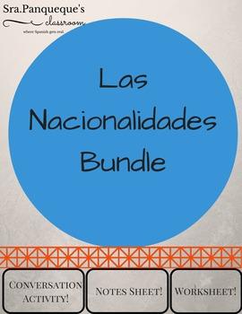 Las Nacionalidades: Bundle