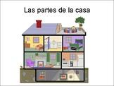 Las Partes de la Casa- Spanish Parts of the House