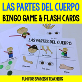 Las Partes del Cuerpo {Bingo Game & Flashcards}