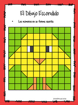 Las Pascuas -Easter- Dibujo Escondido