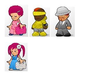 Las Personas People Los trabajos and Description - Guess Who