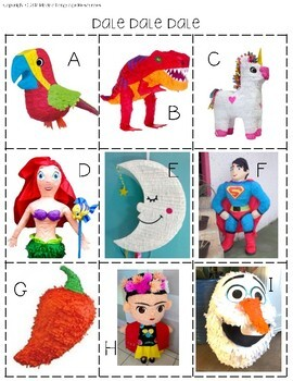 Las Piñatas: Spanish Reading and Authentic Resources Pack