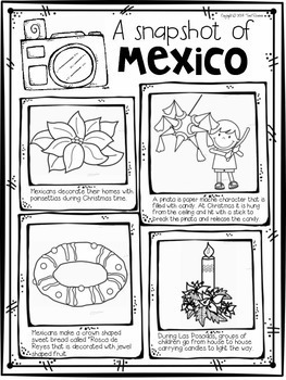 Las Posadas Interactive Resource Package with Flip Book and Craft