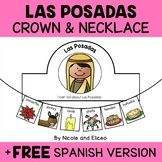 Crown and Necklace Craft - Las Posadas Christmas Activities