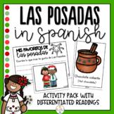 Las Posadas Activity Pack in Spanish