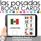 Las Posadas Adapted Book + Comprehension Boom™ Cards for S