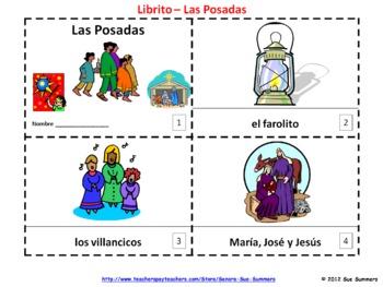 Spanish Las Posadas 2 Booklets and Presentation - La Navidad