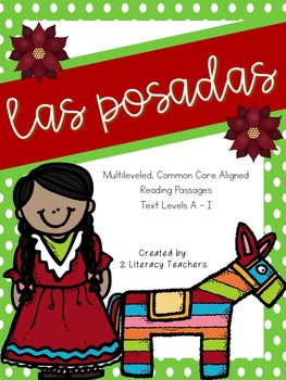 Las Posadas: CCSS Aligned Leveled Reading Passages and Activities