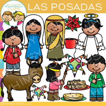 Las Posadas Clip Art {Holidays Around the World Clip Art}