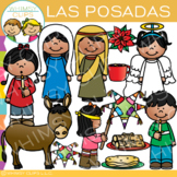 Las Posadas Clip Art {Holidays Around the World Clip Art}