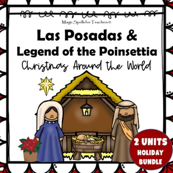 Las Posadas & Legend of the Poinsettia MEGA BUNDLE Lit Unit
