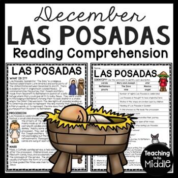 Las Posadas Reading Comprehension Worksheet Latin America Christmas