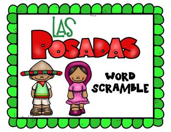 Las Posadas Word Scramble