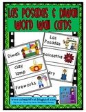 Las Posadas and Diwali Word Wall Cards