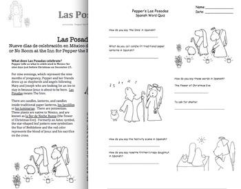 Las Posadas or The Inns with Pepper