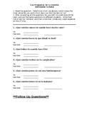 Las Preguntas de Comida - Food Questions Speaking Activity