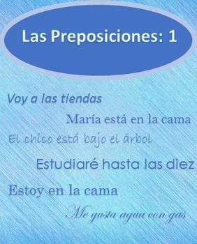 Las Preposiciones 1