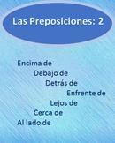 Las Preposiciones 2