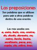 Las Preposiciones (ejercicios)