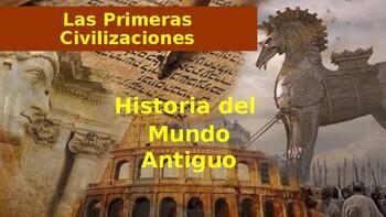 Las Primeras civilizaciones: Mesopotamia, Egipto, Grecia, Rome y los Hebreos