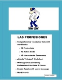Distance Learning-Las Profesiones-Spanish Professions- Wha