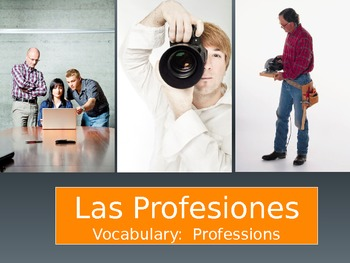 Las Profesiones Through Pictures - PowerPoint